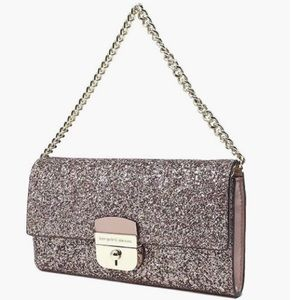Kate Spade Glitter Sunset Lane Milou Wallet Clutch